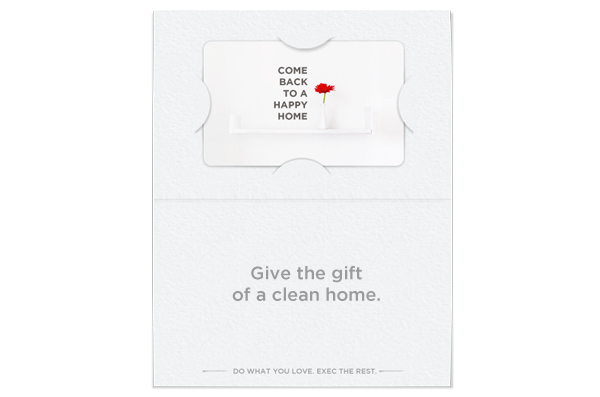Exec Cleaning Gift Cards are here